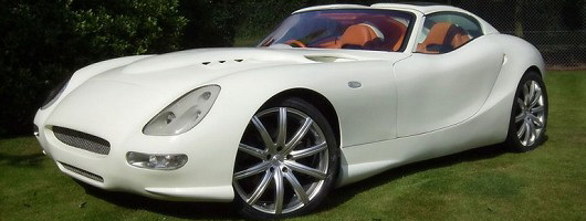 Trident launches green supercar. Image by Trident.