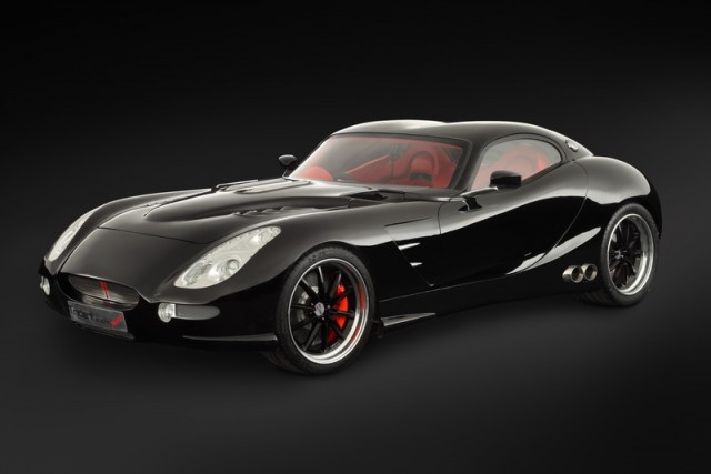 Trident launches V8 turbodiesel sports car. Image by Trident.