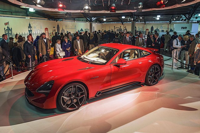 TVR's return complete with Griffith reveal. Image by TVR.