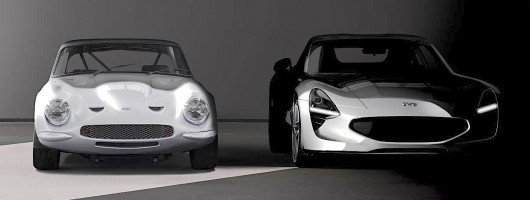 TVR's sneak peek at new sports car. Image by TVR.