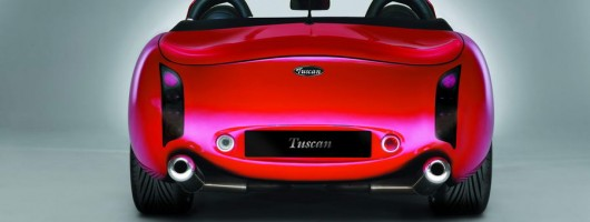 TVR goes high tech with carbon-fibre chassis. Image by TVR.