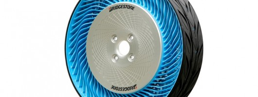 Bridgestone reveals air-free tyre. Image by Bridgestone.