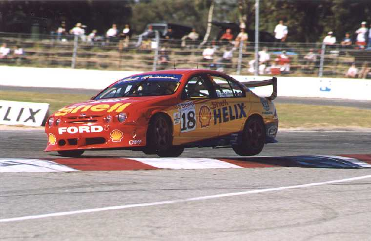 ... Some Kiwi Style To Get His Falcon AU (the Dick Johnson Racing Second Car)  Up To Fourth. He Finished Ahead Of Works Ford Second Driver Neil Crompton  In ...