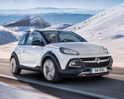 2014 Vauxhall Adam Rocks. Image by Vauxhall.
