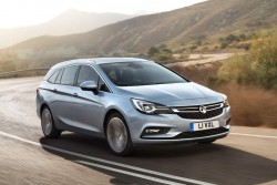 2015 Vauxhall Astra Sports Tourer. Image by Vauxhall.