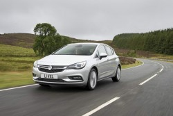 2015 Vauxhall Astra. Image by Vauxhall.