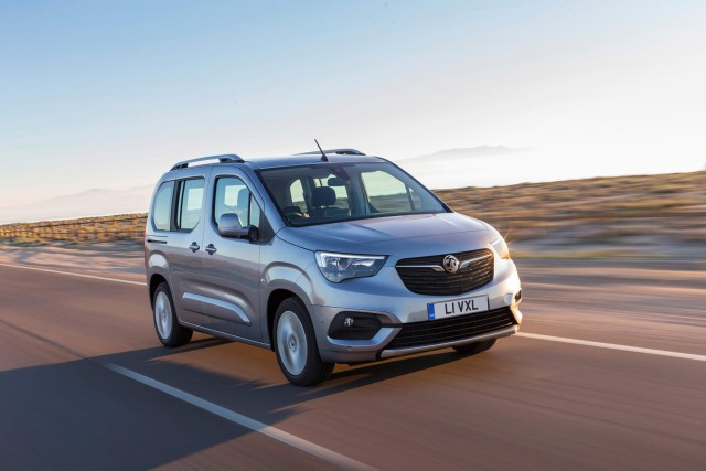 First drive: Vauxhall Combo Life. Image by Vauxhall.