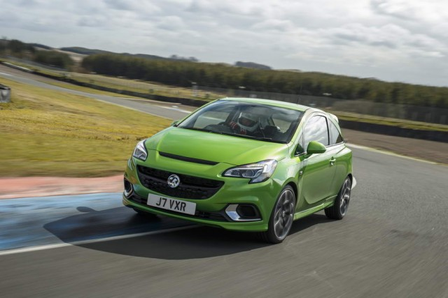 First drive: Vauxhall Corsa VXR. Image by Vauxhall.