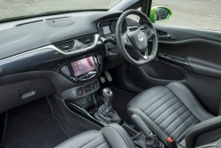 2015 Vauxhall Corsa VXR. Image by Vauxhall.