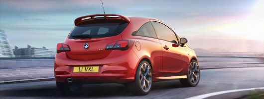Vauxhall Corsa GSi uses 150hp 1.4 turbo. Image by Vauxhall.