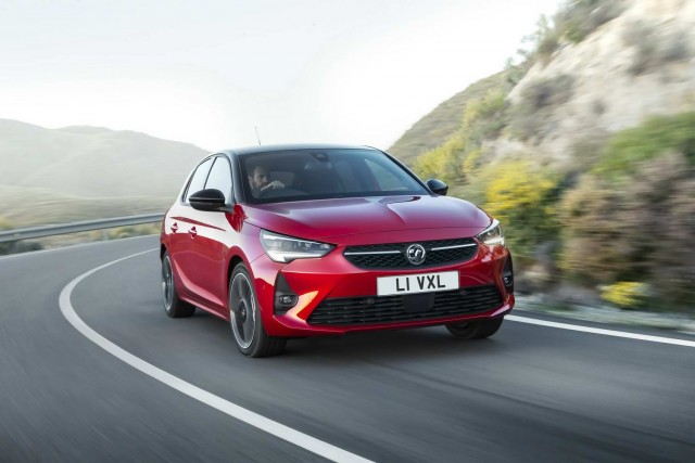 New Vauxhall Corsa range expands with ICE. Image by Vauxhall.