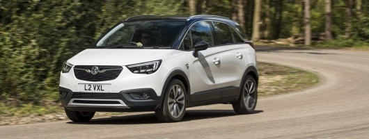 First drive: Vauxhall Crossland X. Image by Vauxhall.
