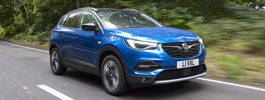First drive: Vauxhall Grandland X 1.6 Turbo D. Image by Vauxhall.