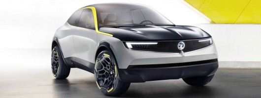 GT X is the future face of Vauxhall. Image by Vauxhall.