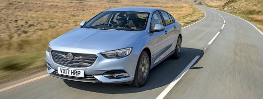 First drive: Vauxhall Insignia Grand Sport. Image by Vauxhall.