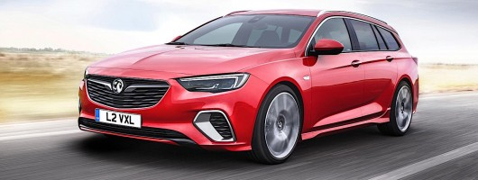 Vauxhall Insignia GSi to cost from £33,375. Image by Vauxhall.