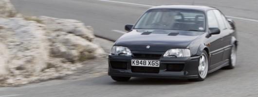Retro drive: Lotus Carlton. Image by Vauxhall.