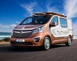 2015 Vauxhall Vivaro Surf concept. Image by Vauxhall.