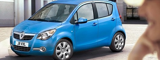 Vauxhall Agila city car to be taken seriously. Image by Vauxhall.