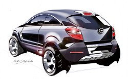 2005 Vauxhall Antara GTC concept. Image by Vauxhall.