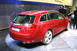 2009 Vauxhall Insignia Sports Tourer. Image by United Pictures.