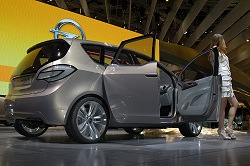 2008 Vauxhall Meriva concept. Image by Shane O' Donoghue.