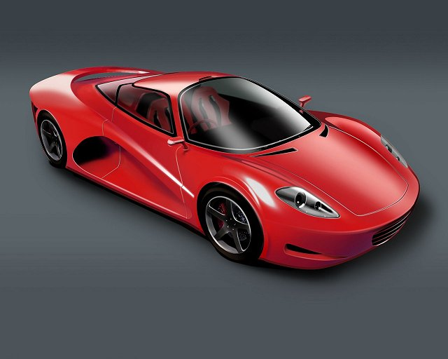 A new name hopes to show green supercar. Image by Velozzi.
