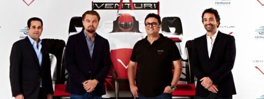 DiCaprio goes racing with Venturi. Image by Venturi.