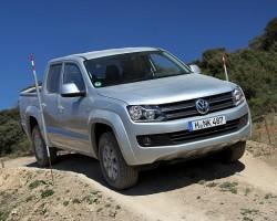 Incoming: Volkswagen Amarok automatic. Image by Volkswagen.