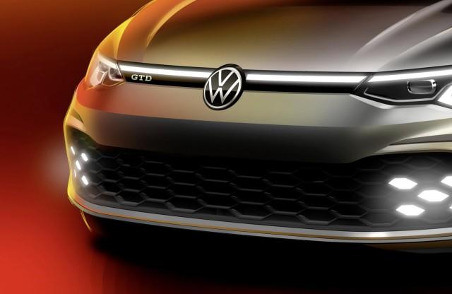 Geneva debut for new Volkswagen Golf GTD. Image by Volkswagen AG.