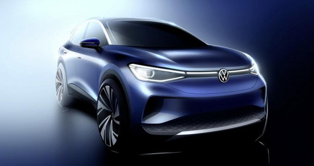 Volkswagen talks about ID.4 styling. Image by Volkswagen AG.