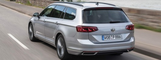 First drive: Volkswagen Passat GTE Estate. Image by Volkswagen.