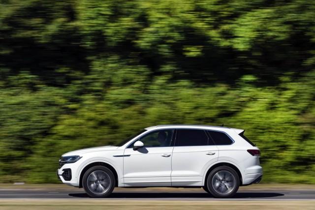 Driven: Volkswagen Touareg R-Line. Image by Volkswagen UK.
