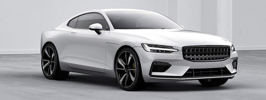 600hp Polestar 1 hybrid coupe is revealed. Image by Polestar.
