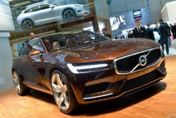 2014 Volvo at Geneva. Image by Newspress.
