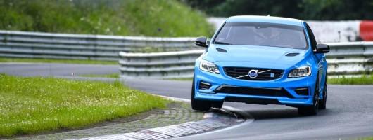 Volvo claims S60 Polestar set Nordschleife record. Image by Volvo.