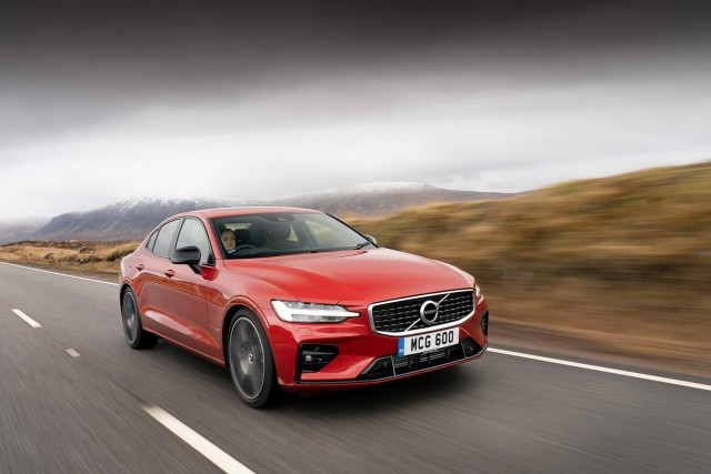 First drive: Volvo S60. Image by Volvo UK.
