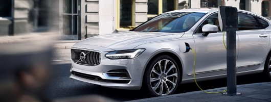2016 Volvo S90. Image by Volvo.