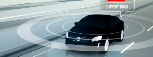 Volvo testing cloud-based communication. Image by Volvo.