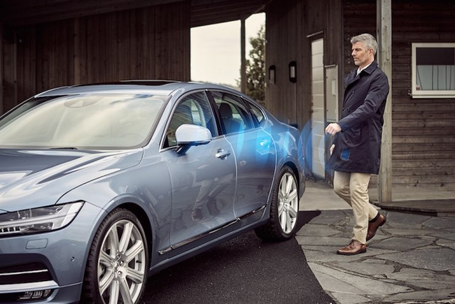 Volvo aims to kill off car key by 2017. Image by Volvo.