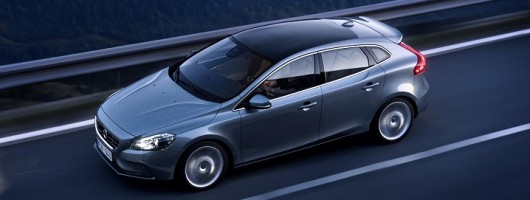 Voluptuous not voluminous - the new Volvo V40. Image by Volvo.