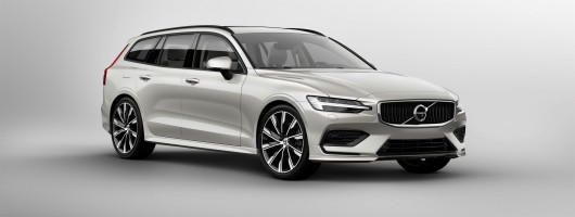 Volvo launches new V60. Image by Volvo.