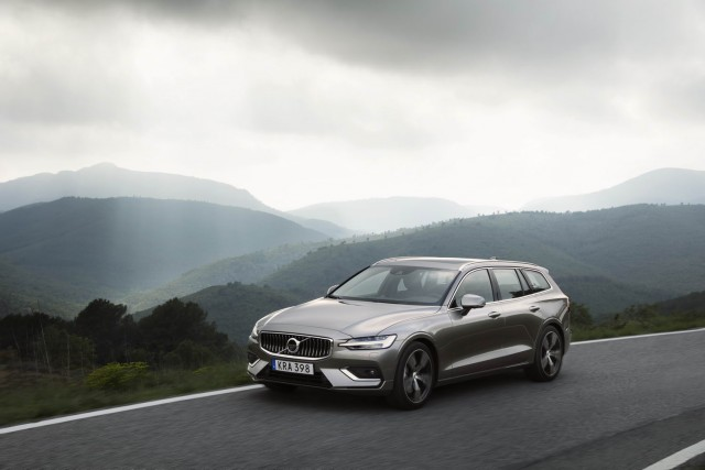 First drive: 2018 Volvo V60. Image by Volvo.