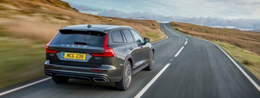 First drive: Volvo V60 Cross Country. Image by Volvo UK.