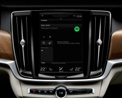 Volvo integrates Spotify. Image by Volvo.