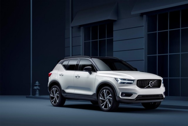 XC40 is Volvo's first ever premium compact SUV. Image by Volvo.