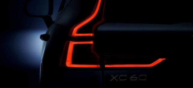 Volvo XC60 previewed. Image by Volvo.