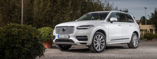 Volvo cuts consumption and emissions on XC90 hybrid. Image by Stuart Price.