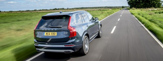 First drive: Volvo XC90 B5. Image by Volvo UK.