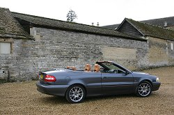 2005 Volvo C70 Convertible. Image by Shane O' Donoghue.